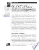 Forest Stewardship Series 1: Introduction to Forest Stewardship and Glossary...