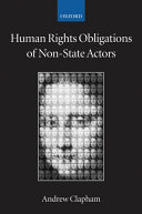 Human Rights Obligations of Non state Actors