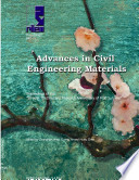 PRO 71: Advances in Civil Engineering Materials - Proceedings of the 50-year Teaching and Research Anniversary of Prof. Sun Wei