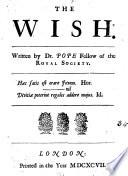 The Wish  , Volume 4