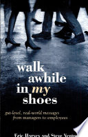 Walk Awhile In My Shoes Book