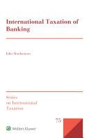 International Taxation of Banking
