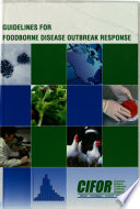 Guidelines for Foodborne Disease Outbreak Response