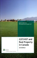 GST/HST and Real Property in Canada