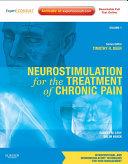 Neurostimulation for the Treatment of Chronic Pain E Book
