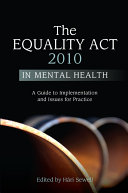 The Equality Act 2010 in Mental Health Pdf/ePub eBook