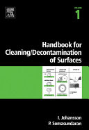 Handbook for cleaning/decontamination of surfaces [Pdf/ePub] eBook