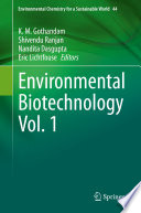 Environmental Biotechnology Vol  1 Book