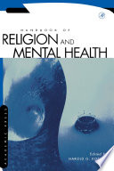 Handbook of Religion and Mental Health Book