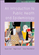 An Introduction To Public Health And Epidemiology