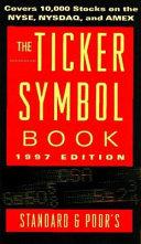 The Ticker Symbol Book Book