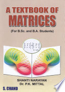 A Textbook Of Matrices