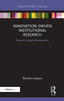 Innovation Driven Institutional Research