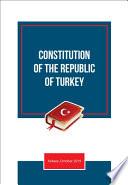 CONSTITUTON OF THE REPUBLIC OF TURKEY Book
