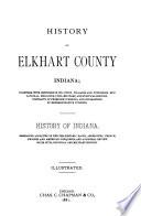 History of Elkhart County  Indiana Book