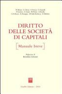 Diritto delle società di capitali. Manuale breve