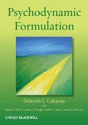 Pdf Psychodynamic Formulation Telecharger