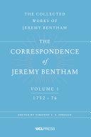 Correspondence of Jeremy Bentham, Volume 1