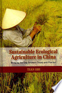 Sustainable Ecological Agriculture in China