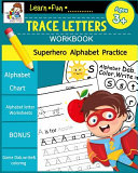 Trace Letters Workbook Ages 3 5