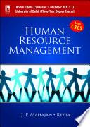 Human Resource Management  For B Com  Sem  3  for University of Delhi  as per CBCS