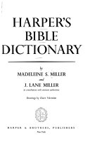 Harper s Bible Dictionary