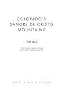 Colorado s Sangre de Cristo Mountains
