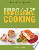 Essentials of Professional Cooking Book