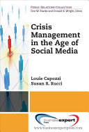 Crisis Management in the Age of Social Media