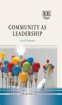 Community as Leadership