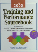 The 2000 Training and Performance Sourcebook
