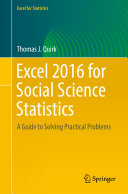 Excel 2016 for Social Science Statistics
