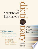 The American Heritage Desk Dictionary