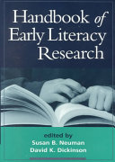 Handbook Of Early Literacy Research Volume 1