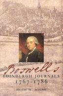 Boswell S Edinburgh Journals 1767 1786