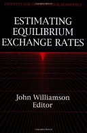 Estimating Equilibrium Exchange Rates