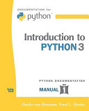 Introduction To Python 3
