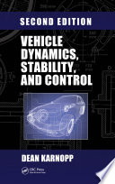 Vehicle Dynamics  Stability  and Control Book