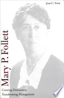 Mary P  Follett