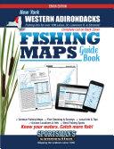 New York   Western Adirondacks Fishing Map Guide