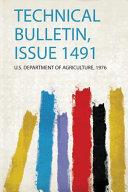 Technical Bulletin, Issue 1491
