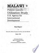 Public Lands Utilization Study
