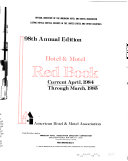 Hotel & Motel Red Book