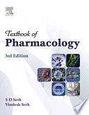 """Textbook Of Pharmacology"" by Seth"