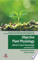 Objective Plant Physiology 2nd Ed Mcq In Plant Physiology Book PDF