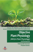 Objective Plant Physiology  2nd Ed    MCQ in Plant Physiology