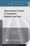 Improvement Science in Evaluation: Methods and Uses