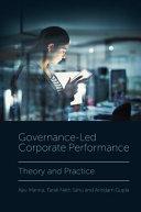 Pdf Governance-Led Corporate Performance Telecharger