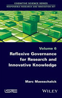Pdf Reflexive Governance for Research and Innovative Knowledge Telecharger