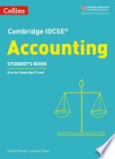 Cambridge IGCSETM Accounting Student's Book (Collins Cambridge IGCSETM)